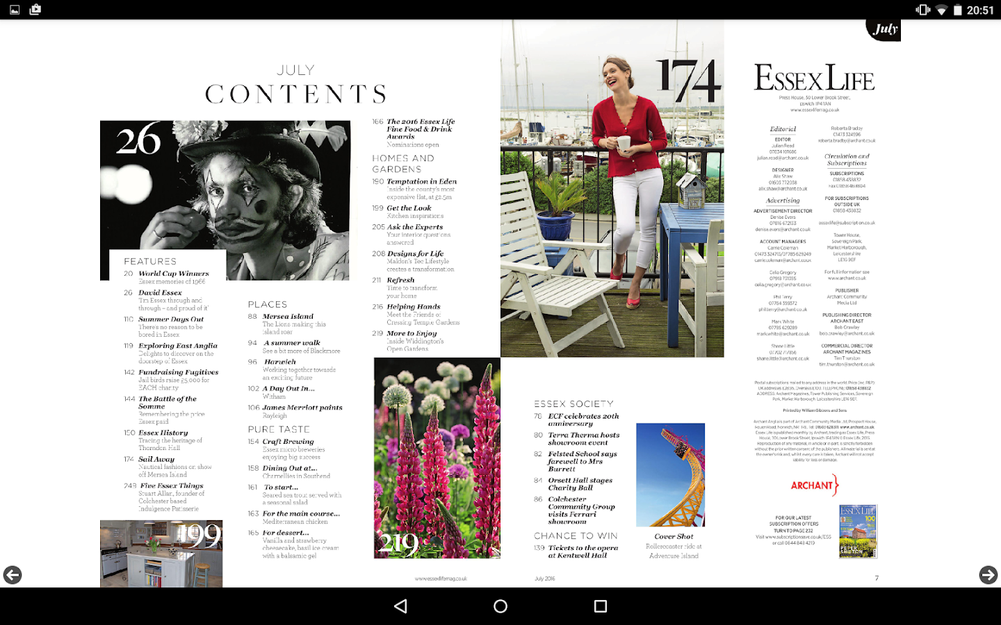 Essex Life Magazine- screenshot