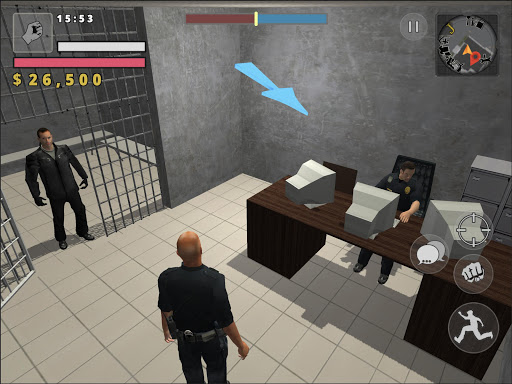 Police Cop Simulator. Gang War apkmr screenshots 14