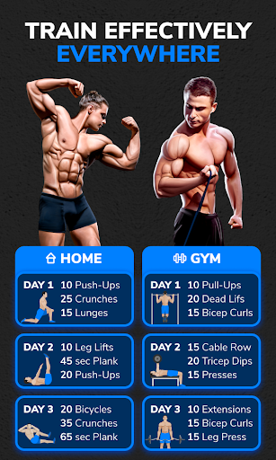 BetterMen: Home Workouts & Diet ss3