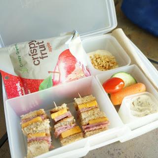 Salted Caramel Yogurt Dip & Power Your Lunchbox Pledge