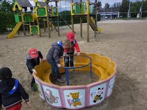 Photo: Tijd voor de speeltuin vooraan!