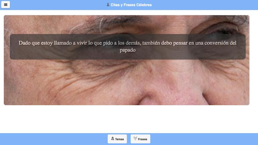 android Frases del Papa Francisco Screenshot 12