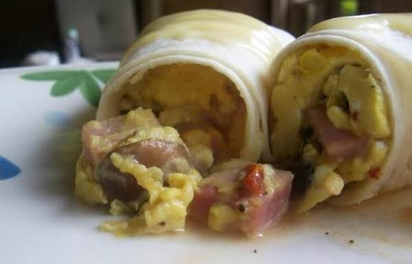 Eggs Benedict Wrap Recipe