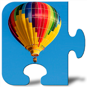 Hot Air Balloons Jigsaw Puzzle without Internet