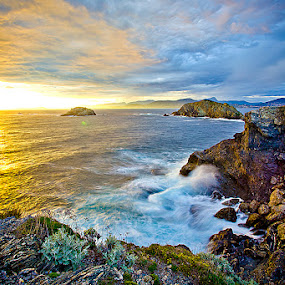 After the storm by Zajac David - Landscapes Waterscapes ( colors, sunrise, landscape )