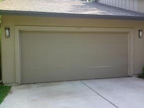 Photo: Before Photo. Flush Panel Steel Door