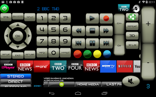 Remote for LG TV & LG Blu-Ray players screenshot 9