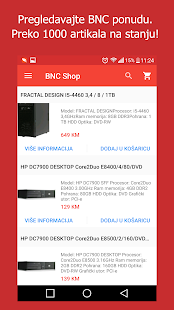 BNC Shop- screenshot thumbnail