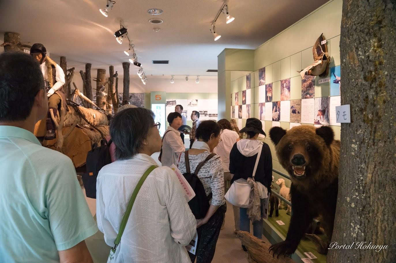北竜町の動物展示コーナー