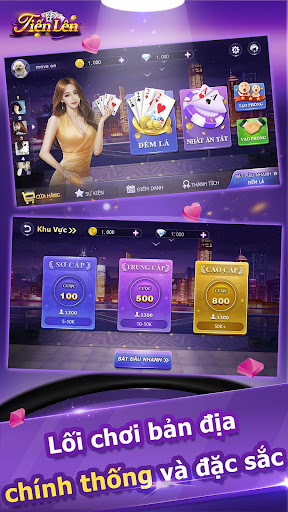 Tiu1ebfn Lu00ean Miu1ec1n Nam - Tien Len -Tu00e1 Lu1ea3-Phu1ecfm -ZingPlay 1.7.061105 screenshots 2