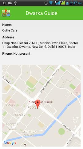 android Dwarka Guide Screenshot 3