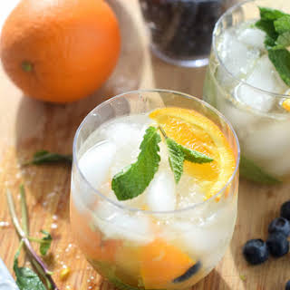 Skinny Orange Blueberry Mojito and $100 VISA Gift Card PLUS Chinet® Cut Crystal® Tableware Giveaway!.