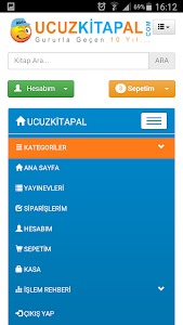 Ucuzkitapal screenshot 1