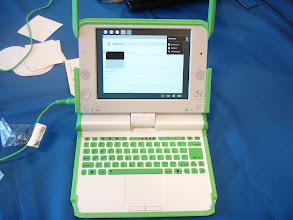 Photo: Children in Africa use this computer for self-education