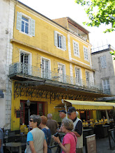 Photo: The cafe in Van Gogh's Cafe la Nuit.  Van Gogh is just one of the attractions of this lovely city in Provence.