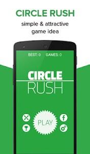 Circle Rush screenshot 0