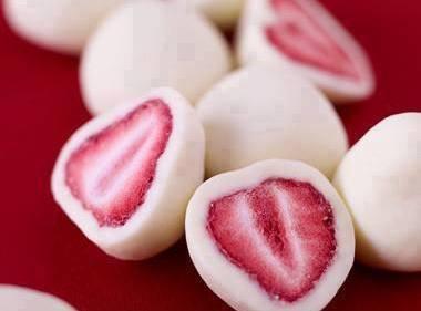 Frozen Yogurt Covered Strawberries Recipe