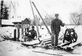 Photo: Värmskogen, Nils Eriksson och Ragnar Forsström