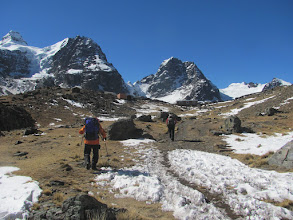 Photo: Aklimatisierungstour in der Condoriri-Gruppe