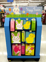 Photo: Walmart has Easter displays ALL OVER.