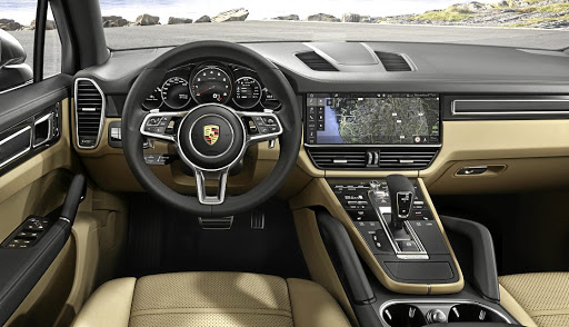 Much of the interior comes from the latest Panamera