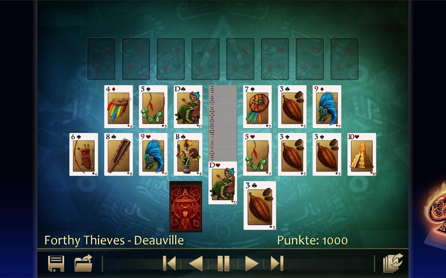 Solitaire 220plus (german)- screenshot