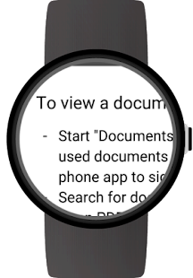 Documents for Android Wear Screenshot 4