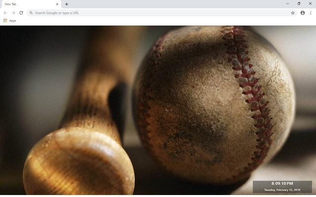 Baseball New Tab & Wallpapers Collection
