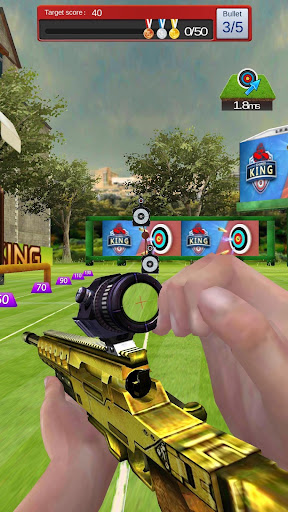 Gun Shooting 3D - Top Sniper Shooter Online Games cheat screenshots 3