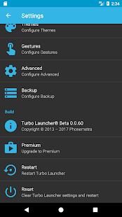 Turbo Launcher® 2018 Screenshot