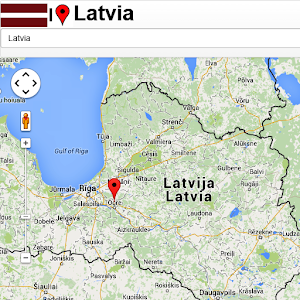 Latvia Map Android Apps On Google Play - Vilnius maps google