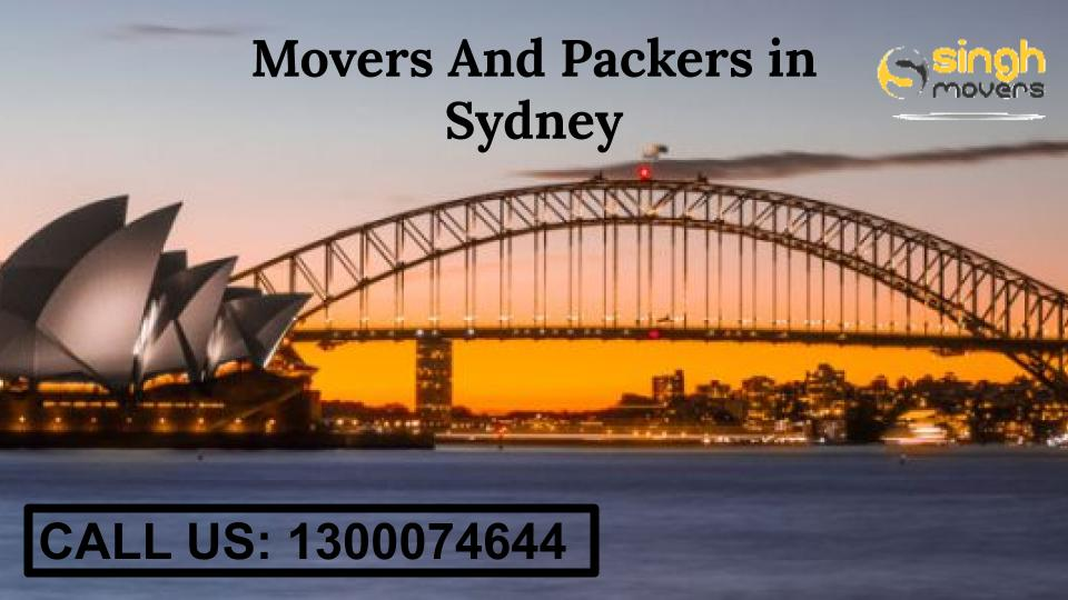 movers and packers sydney