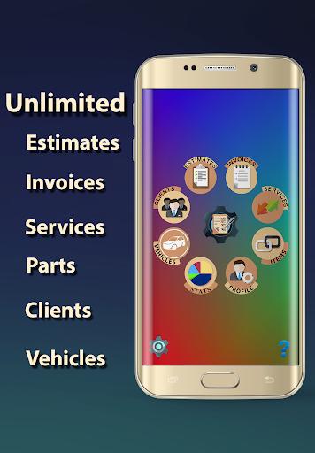 ARI (Auto Repair Invoices) 5.0.3 screenshots 1