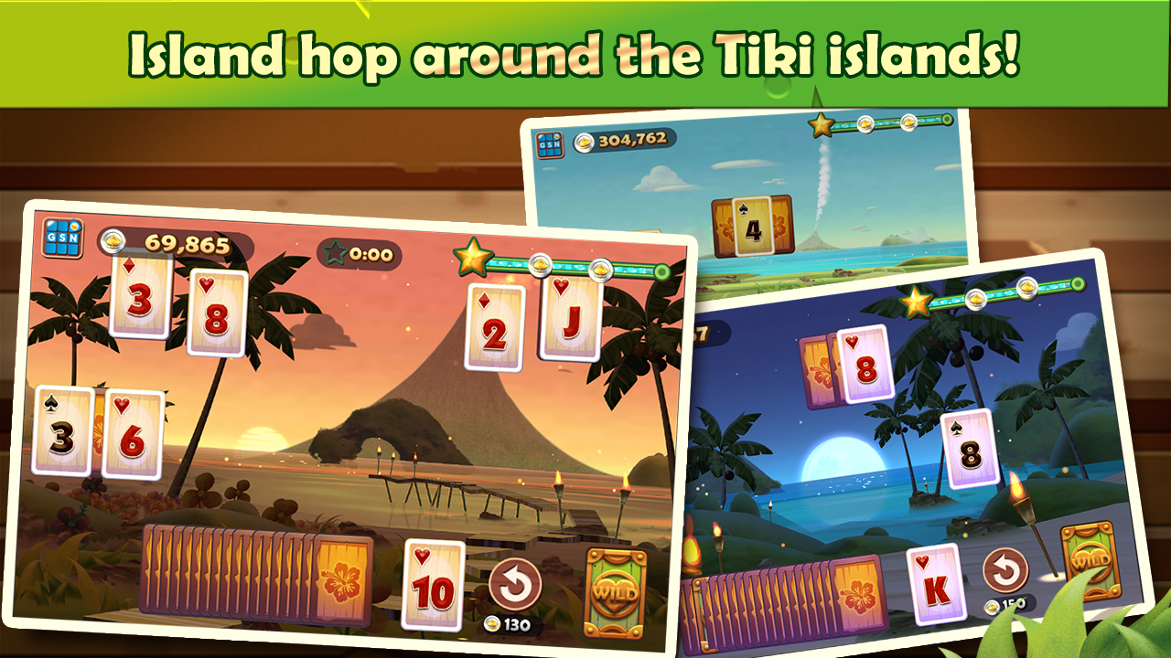 Solitaire TriPeaks- screenshot
