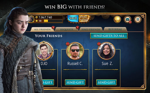 Game of Thrones Slots Casino - Free Slot Machines apktram screenshots 3