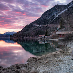 Walchensee Germany by Cristiano Bento - Landscapes Mountains & Hills ( waterscape )