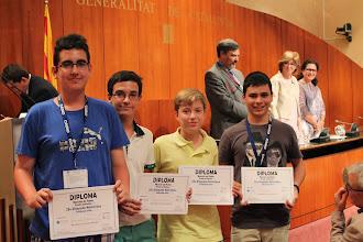 Photo: Ganadores de la prueba de equipos