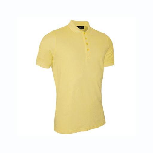 Glenmuir Kinloch piqué polo shirt  Yellow