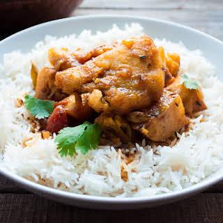 Bengali Bhetki Fish Curry.