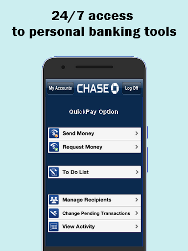 Quickpay - with chase advice 3 screenshots 2