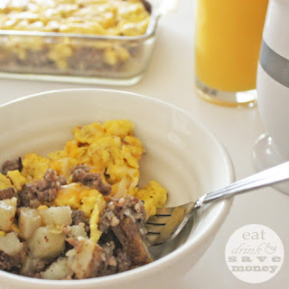 Easy Breakfast Scramble.