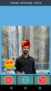 Rajasthani Saafa Turban Photo Editor - náhled