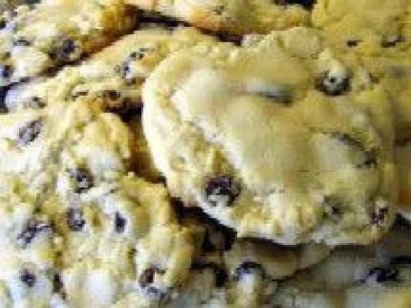 Lemon Raisin Crisscross Cookies Recipe