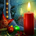 christmas candle wallpaper icon