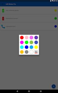 LED Blinker Benachrichtigungen - Steuer dein Licht Screenshot