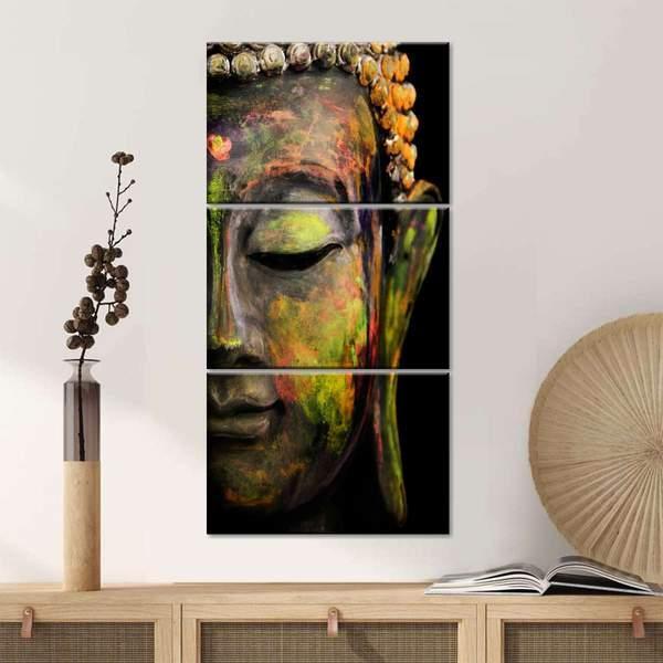 Buddha Face Wall Art