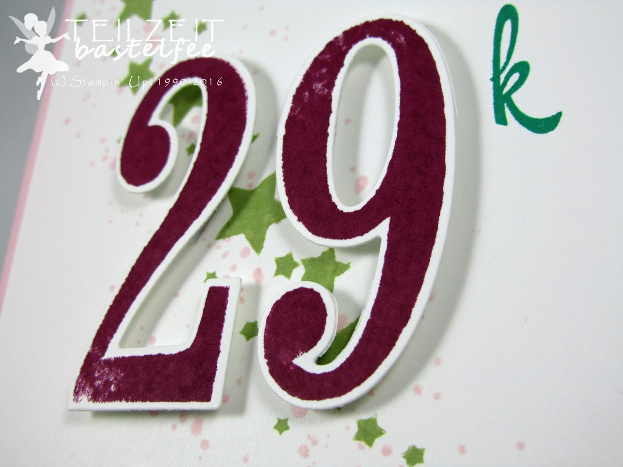 Stampin' Up! – In{k}spire_me #266, Color Challenge, Double Slider Card, Gorgeous Grunge, Perpetual Birthday Calendar, Brushwork Alphabet, So viele Jahre, Number of Years, Grüße voller Sonnenschein, Sunshine Sayings, Bannerweise Grüße, Thoughtful Banners, Stylized Birthday, Simply Stars