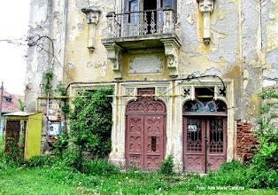 Photo: Castelul Teleki, fatada de vest (spre Mures)