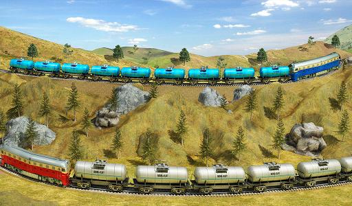 Indian Train City Pro Driving- Oil Tanker Train  screenshots 14