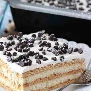 Cannoli Icebox Cake